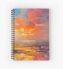 Vivid Light 3 Spiral Notebook