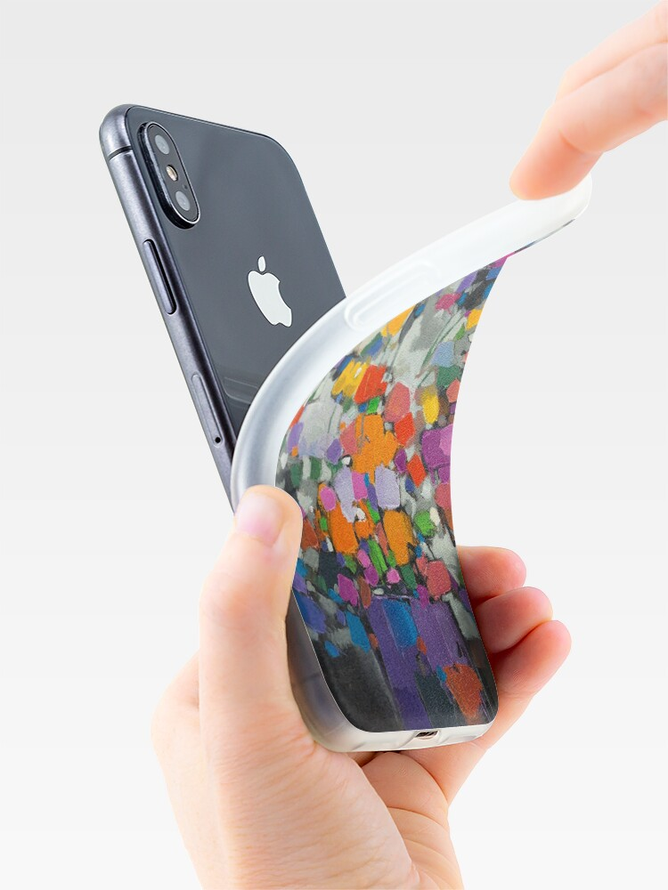 Alternate view of Floral Spectrum 2 iPhone Case & Cover