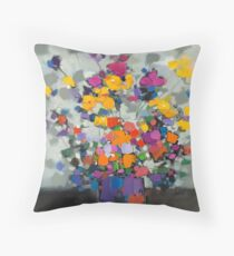 Floral Spectrum 2 Floor Pillow