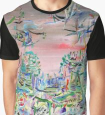 iTALIAN LANDSCAPE REVISITED Graphic T-Shirt