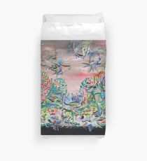 iTALIAN LANDSCAPE REVISITED Duvet Cover