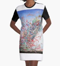 UNKNOWN FORCES Graphic T-Shirt Dress