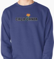 California the Golden State Pullover