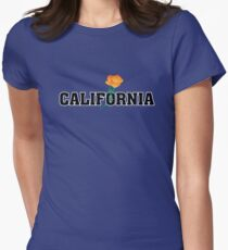 California the Golden State Women's Fitted T-Shirt