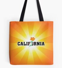 California the Golden State Tote Bag