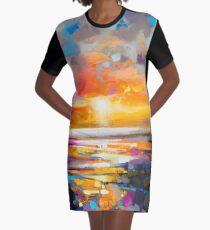 Vivid Light 1 Graphic T-Shirt Dress