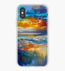 Liquid Cyan  iPhone Case
