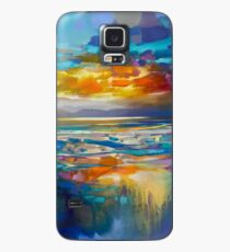 Liquid Cyan  Case/Skin for Samsung Galaxy