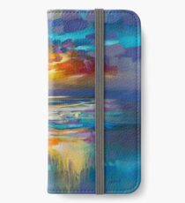 Liquid Cyan  iPhone Wallet/Case/Skin