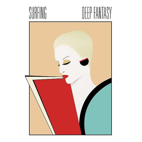 'Surfing Deep Fantasy [Vaporwave] Authentic 100%' Poster by Robert Leach