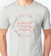 What if you fly |  Peter Pan | Movie Quote Unisex T-Shirt