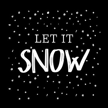 Let it SNOW by DarkMaskedCats
