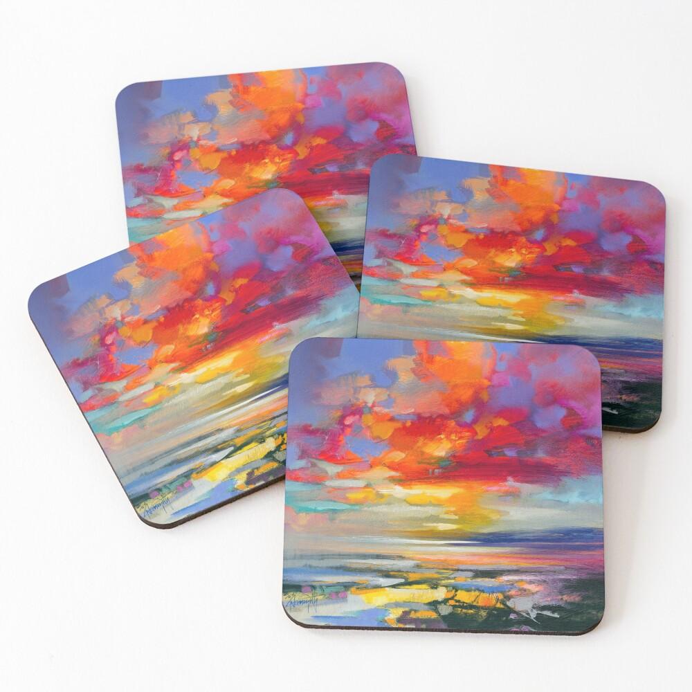 Vivid Light 2 Coasters (Set of 4)