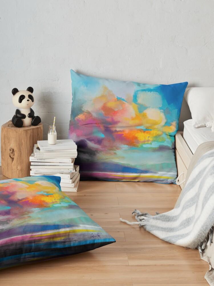Alternate view of Vapour Floor Pillow