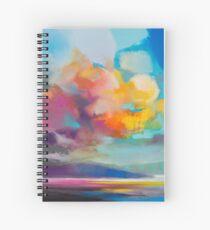 Vapour Spiral Notebook