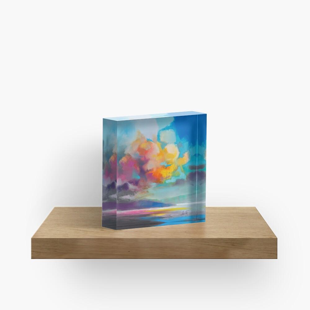 Vapour Acrylic Block