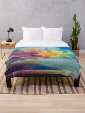 Vapour Throw Blanket