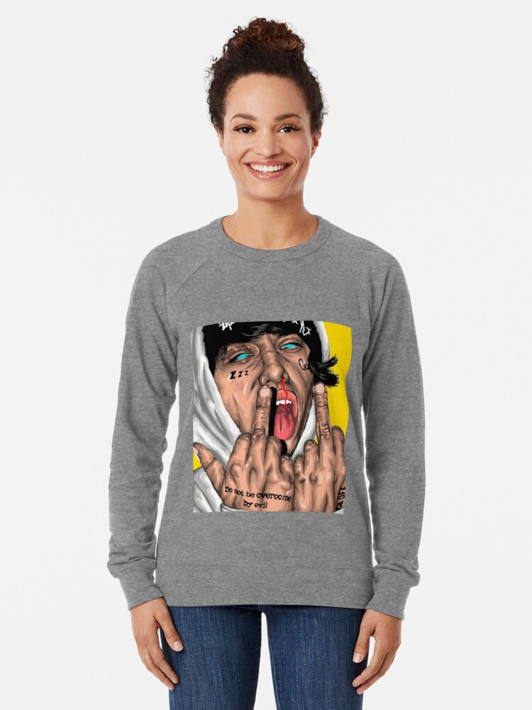 Alternative Ansicht von Lil Xan Leichter Pullover
