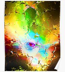 rainbow stones Poster