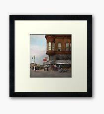 City - Dillon, Montana - Today's my day off - 1942 Framed Print