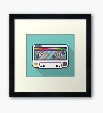 Vintage tape Framed Print