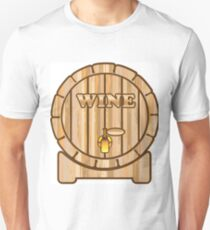 Wine Barrel Unisex T-Shirt