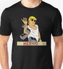 Wall Bae T-Shirt Trump Building Wall Shirt Slim Fit T-Shirt