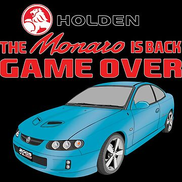 The Monaro Is Back Game Over - Blue by holdenfanpage
