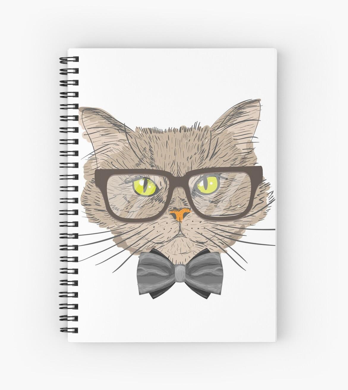 1a32cd209647a Funny Cat Wearing Glasses T-Shirt