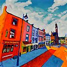 Ballyshannon. Main Street. Donegal, Ireland by eolai