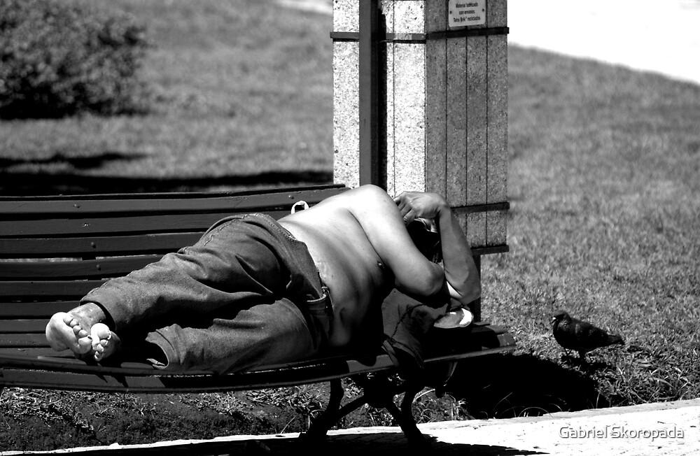 Resting in the sun by Gabriel Skoropada
