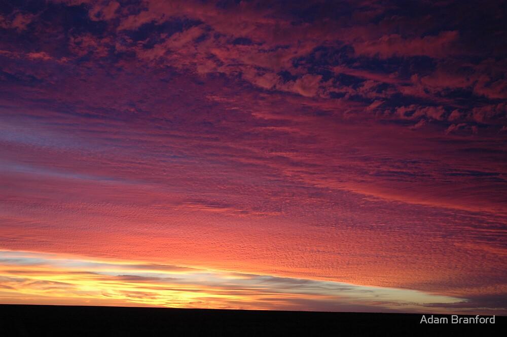 Nullabor Sunrise by Adam Branford