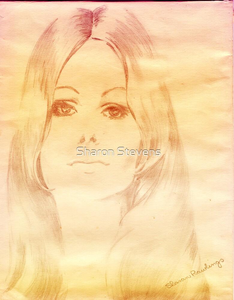 Pencil sketch #2 by Sharon Stevens