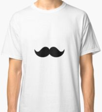 mustache Classic T-Shirt