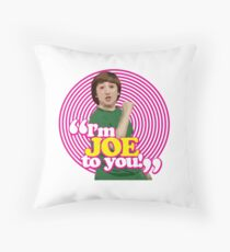 I'm Joe To You! - Pink Windmill Kids Throw Pillow