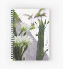 Princess of the Night - Blooming in Abundance Spiral Notebook