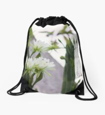 Princess of the Night - Blooming in Abundance Drawstring Bag