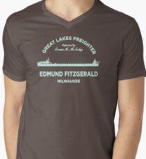 Edmund Fitzgerald GC196 Best Trending Men's V-Neck T-Shirt