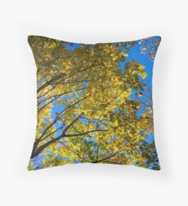 Golden leaves Floor Pillow