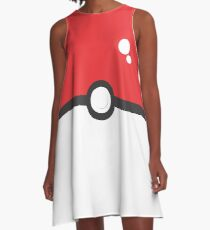 Pokémon Poké Ball A-Line Dress