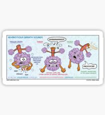 Adventitious Breath Sounds Sticker