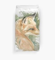 What does the fox say? Duvet Cover