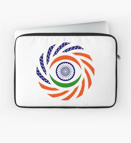 Indian American Multinational Patriot Flag Series Laptop Sleeve