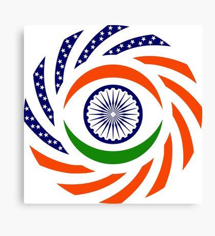 Indian American Multinational Patriot Flag Series Canvas Print