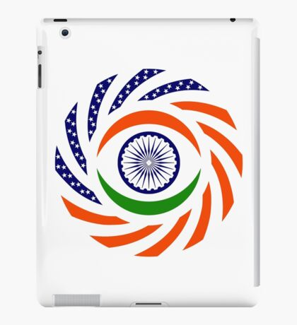 Indian American Multinational Patriot Flag Series iPad Case/Skin