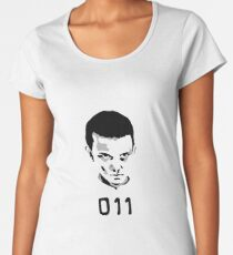 Eleven 11 Stranger Things Women's Premium T-Shirt