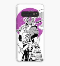 Purple Warrior - Labrys Amazon - Queer Fighter Case/Skin for Samsung Galaxy