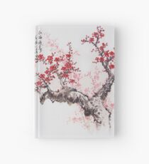 Japanese Cherry Blossoms Hardcover Journal