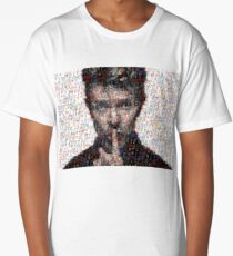 David Bowie Mosaic Art 3 Long T-Shirt