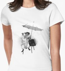 An Ode to Banksy... Womens Fitted T-Shirt